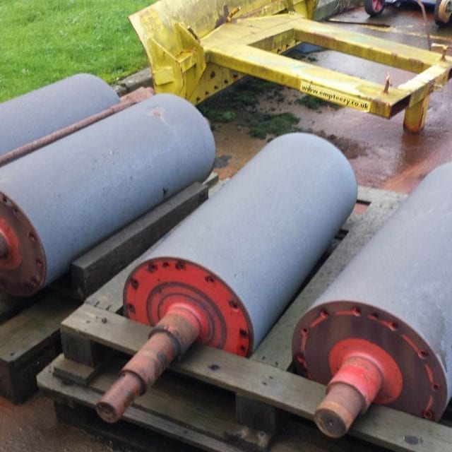 conveyor roller protected with Maxmet 400